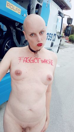 fagot whore for truckers