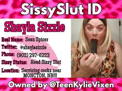 SissyShaylaSizzle sissy ID