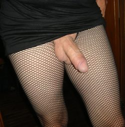 cock & fishnet stockings