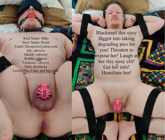 Stupid sissy whore