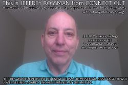 Sissy faggot Jeffrey Rossman from Connecticut exposed as he really looks without makeup or wig f ...
