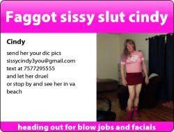 sissy slut cindy