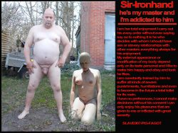 Slave-pig-fagot and sir.ironhand