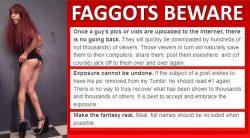Exposed Faggots Beware!
