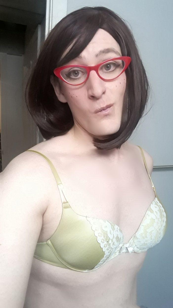 Enjoying my femininity