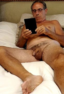 jim reading naked