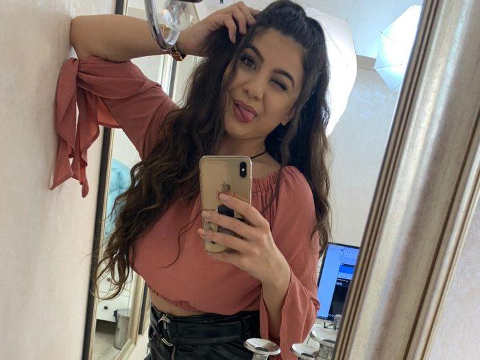 Sissification webcam tease for fans of feminization
