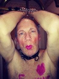 Mistress Julie's lipstick sissy faggot Francine