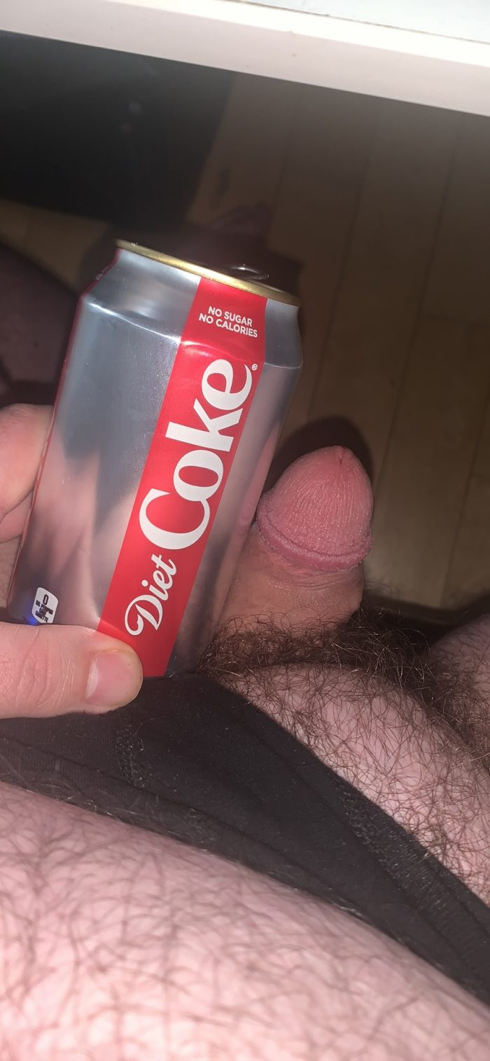 Coke Bottle Cock, more like Chopstick Dick