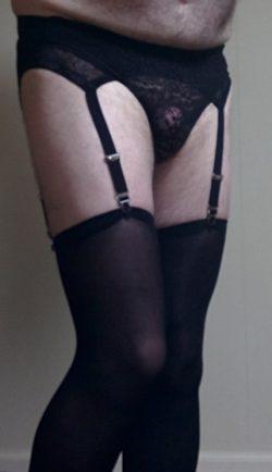 black garterbelt