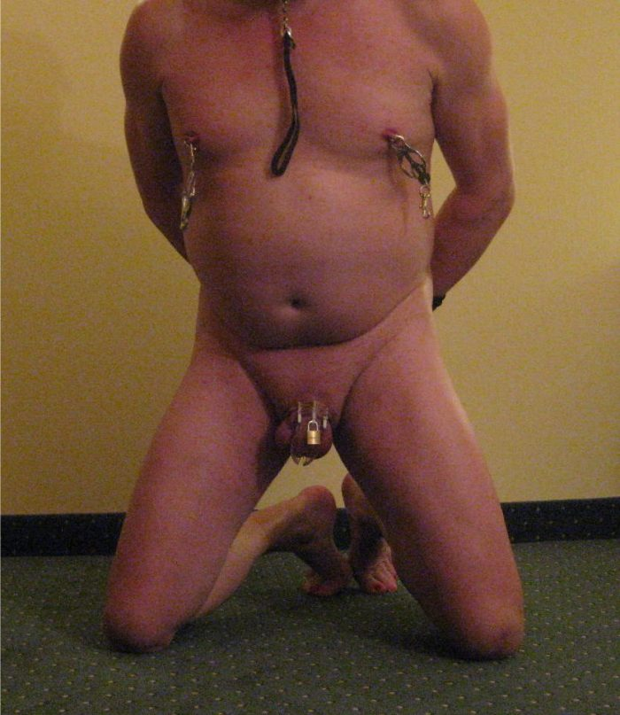 on my knees, begging for humiliation, degradation and exposure
