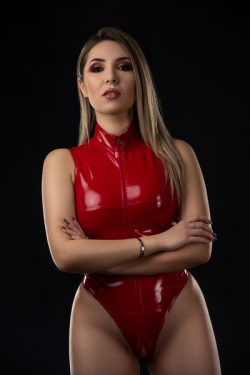 Latex loving findom money mistress