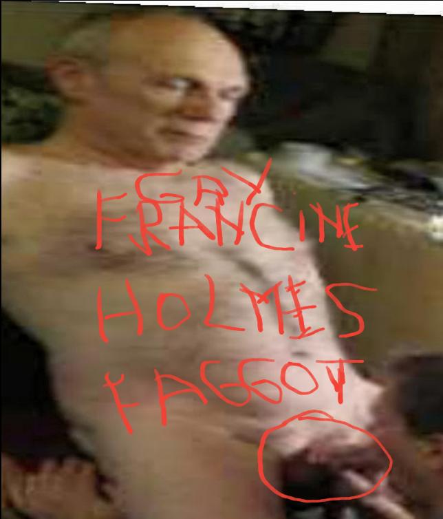 Richard holmes exposed as a gay faggot