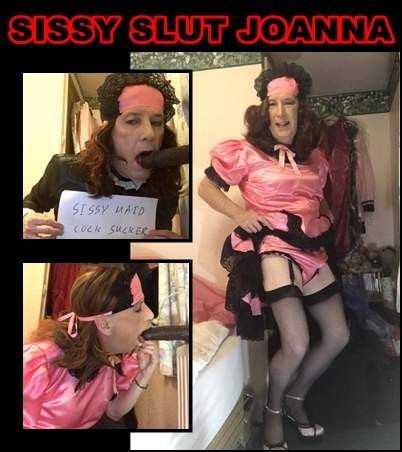 Sissy Slut Joanna exposed