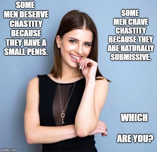 Small Penis vs Naturally Submissive