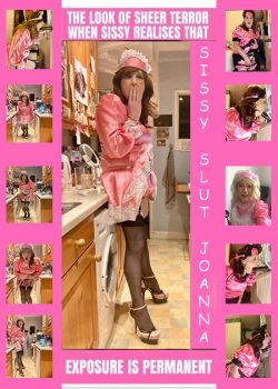sissy slut Joanna is soooo on google now, she knows it's too late