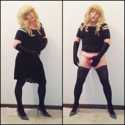 From sweet and innocent to showing her true slutty nature Sissy Samy can't help herself!!!