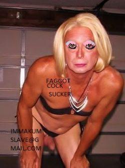 Sissy faggot Taylor