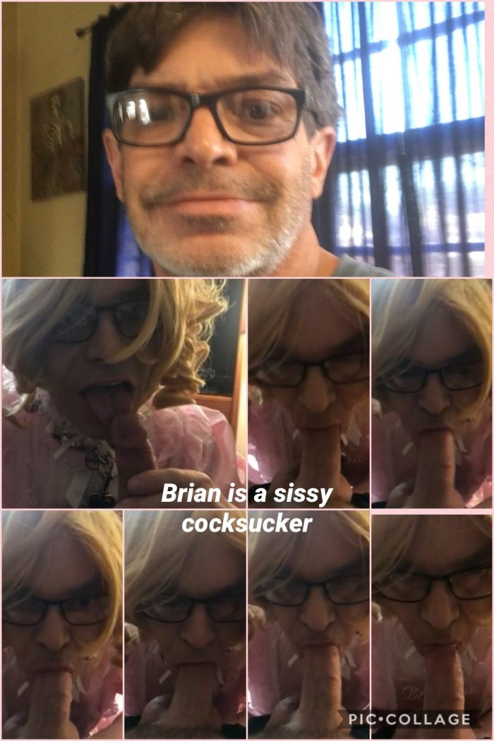 Sissybrianna is an exposed sissy