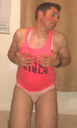 Mark feeling like such a horny sissy slut