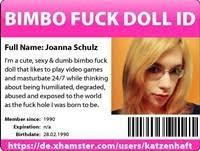 sissy slut fuck doll love to do as ordered, she's soooo good at it