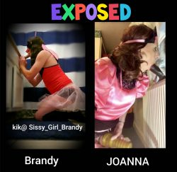 Sissy Joanna and Brandy Exposed