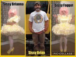 sissy slut Brian, omg yesyesyes stay a faggot