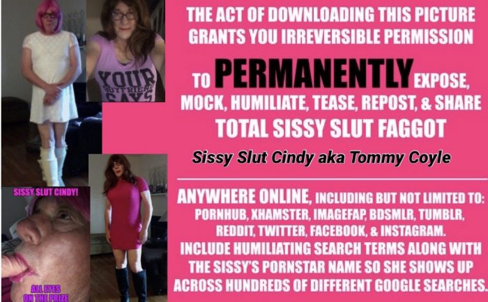 It's permanent your an exposed Sissy