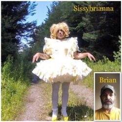 spring is coming and time for Brian to take a holiday as Brianna! She loves the outdoors!