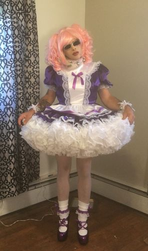 sissy slut Brianna, now a full time model for her Mistress dresses, Brianna can no longer go bac ...