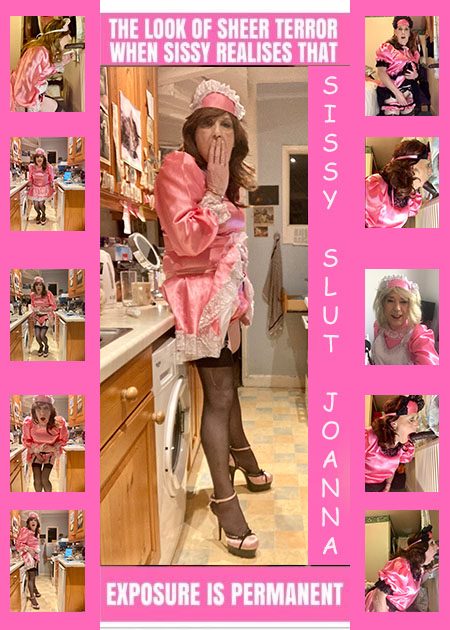 Sissy Slut Joanna Is Now Realising How Her Pictures Are Spreading