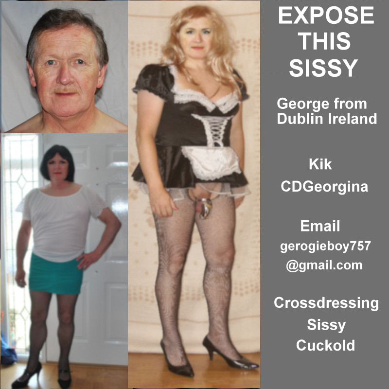 Expose this Crossdressing Sissy