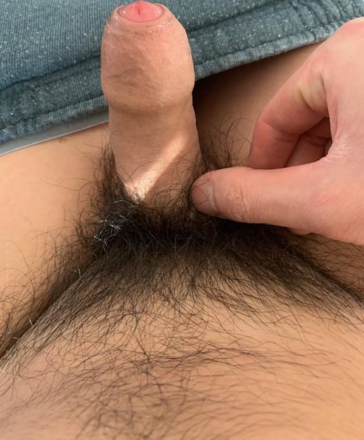 Small asian rice dick