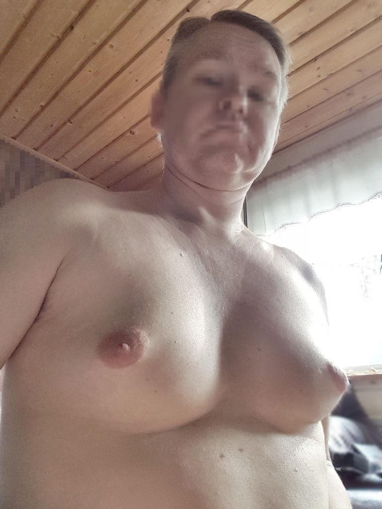 My sissy tits again