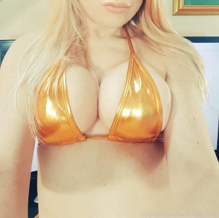 Worship my shiny tits.