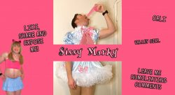 Humiliating comments make sissy horny