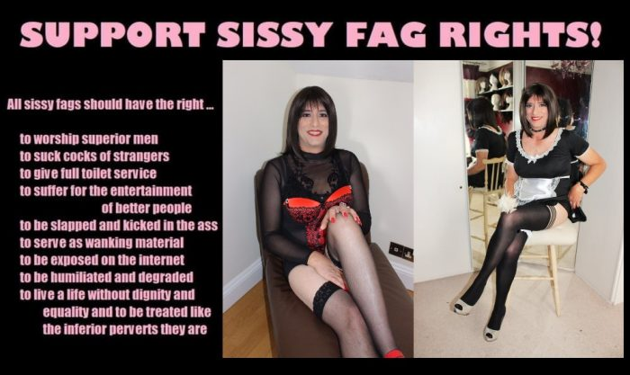 i am married and no one knows that i am secretly a sissy faggot