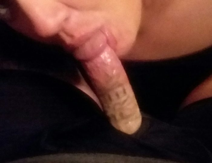 She loves to suck my cock