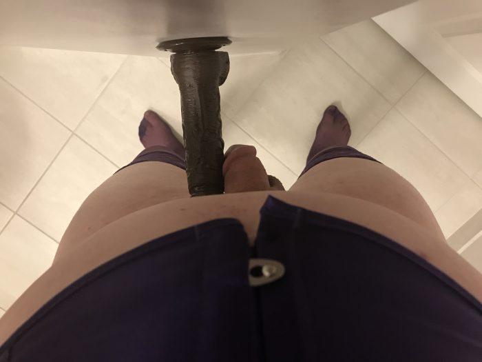 Feel like a big man next to that dildo, sissy?