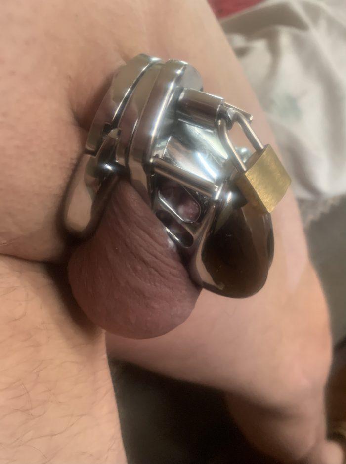 Locked up. (Repin) Locked Dickclit