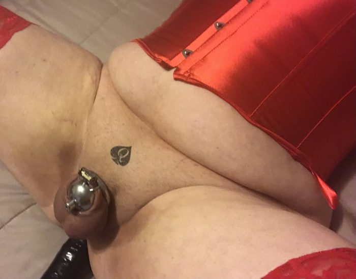 Sharing is caring – my ex (and former Cuckoldress) and I shared her giant dildo.