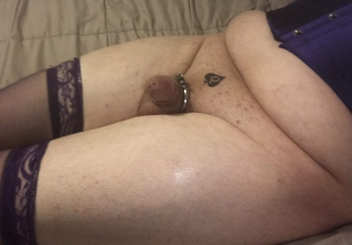Showing off my micro penis
