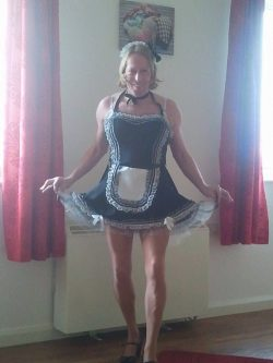 Sissy maid for hire