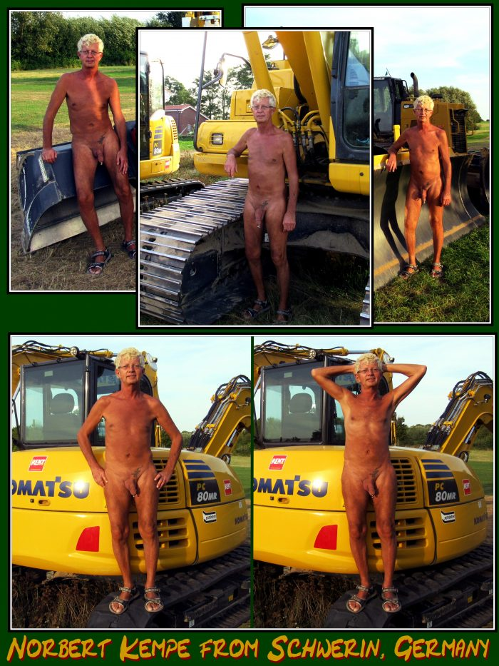 Norbert Kempe naked exposed