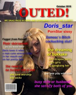 exposed and outed sissydoris – permanent exposure