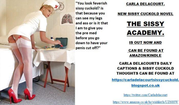 Sissy Cuckold Carla Delacourts crazy captions