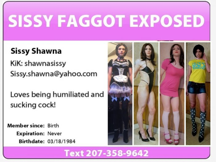 Exposed tiny dick sissies