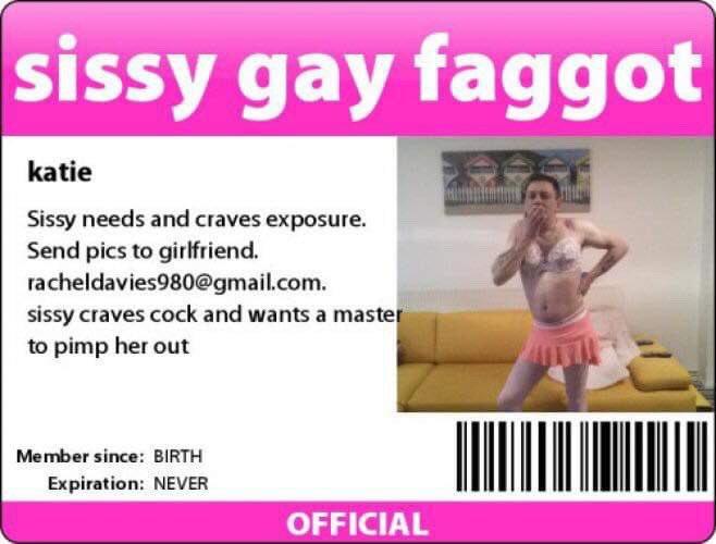 Faggot I'd card