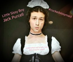 Outed Sissy Jack Purcell