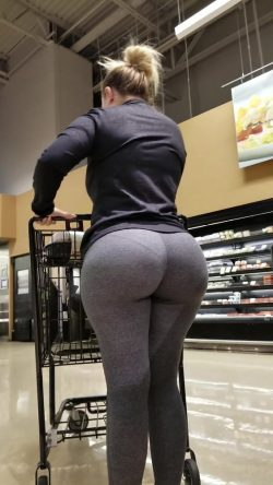 Maybe shes shopping for a big zuchinni for her big ass